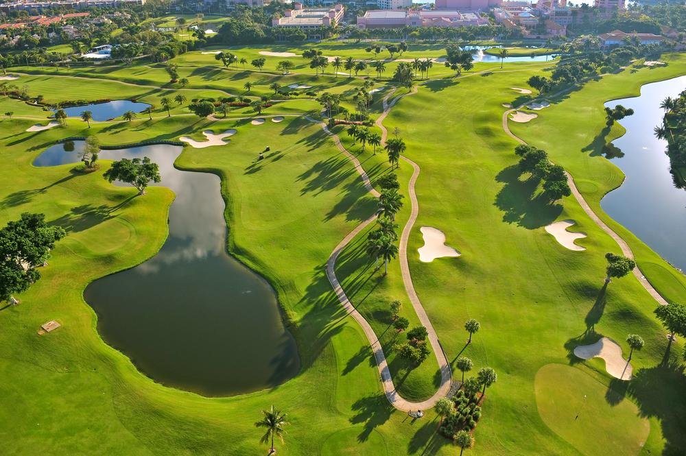 Trump Golfplatz