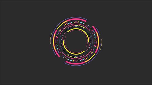 Rainbow Circle Wallpaper Engine