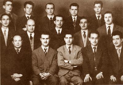 Equipo del Club Ajedrez Granja en 1958