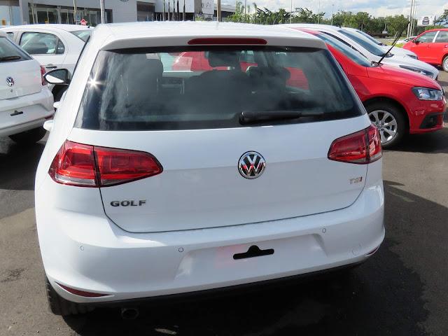 VW Golf 2017 TSI - preço