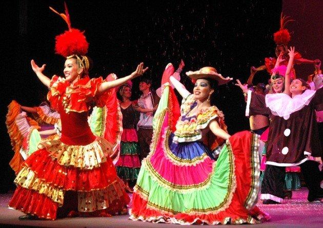 0aae156bfd9d8 dupla implacavel  Dança Mexicana