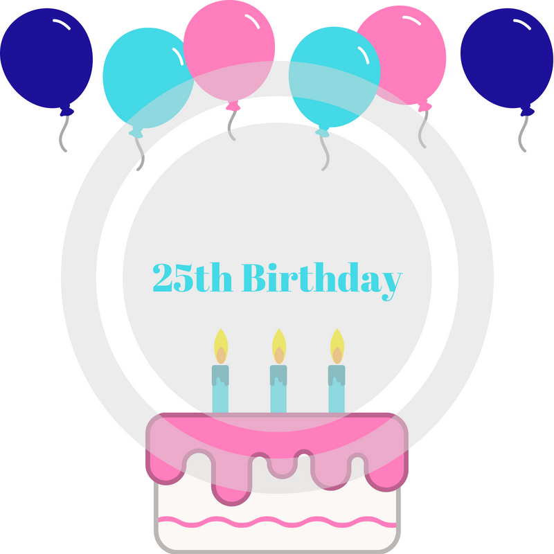 Stephanie Kamp Blog: What to do for my 25th Birthday