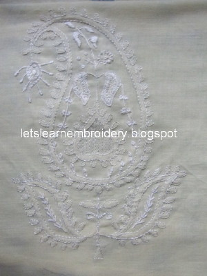 Lets Learn Embroidery Chikan Embroidery