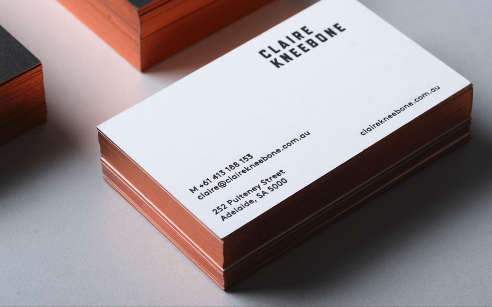 Awesome Business Cards Ideas Image collections - Card Design And ...