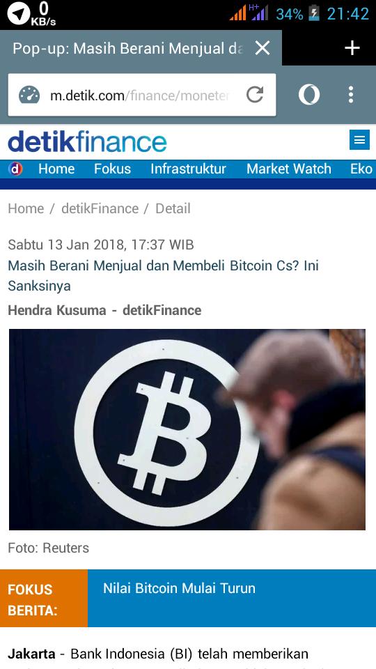 Bitcoin dan Virtual Currency lainnya dilarang di Indonesia   Jogloabang