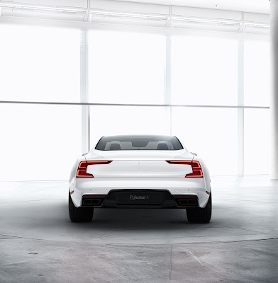 Volvo Polestar One - Electric Performance Hybrid car with 600 PS and 1000 Nm
