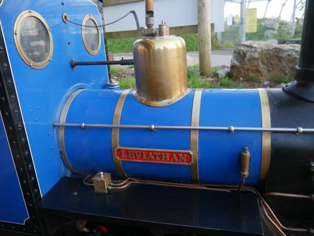 South Lakes Safari Zoo steam train