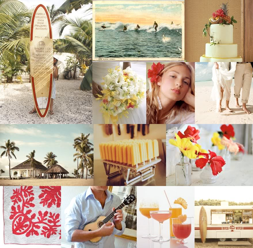 Hawaiian Themed Wedding Ideas