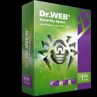 تحميل برنامج الحماية أثناء تصفح الانترنت Dr.Web Security مجانا