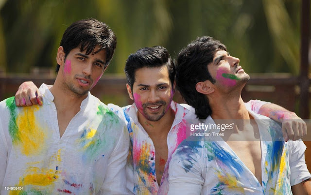 Bollywood & Tellywood Celebs Celebrating Holi