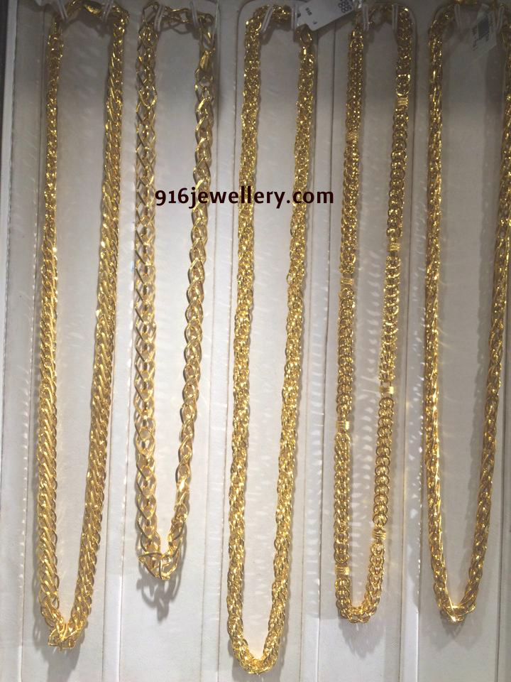 Gold Chains Designs Sudhakar Gold Works