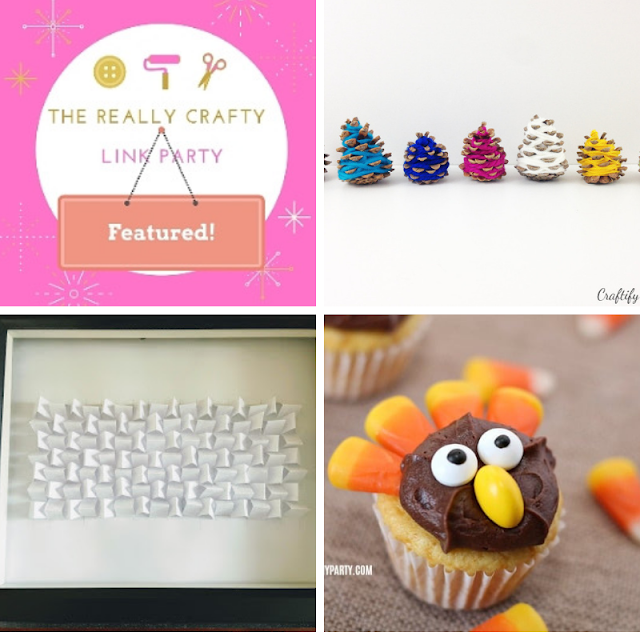 The Really Crafty Link Party #142 featured posts