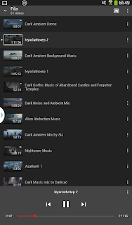 Playlist do ChromeCast