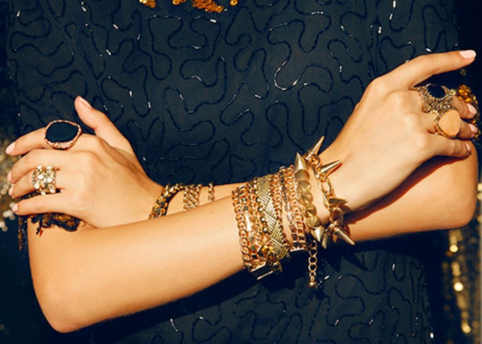 arm party gold