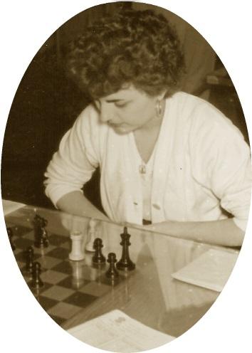 La ajedrecista Maria Lluïsa Puget