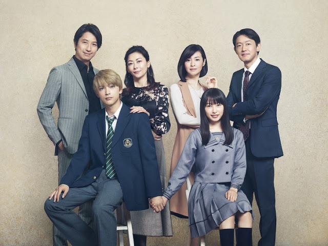 Pemeran utama dan pemeran pendukung utama Movie Live-Action Jepang : Marmalade Boy