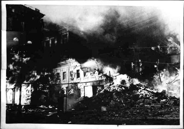Пожежа в Києві. 1941