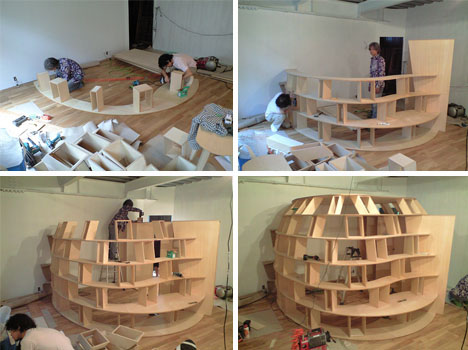 Alejandra Creatini: 12 Bookshelves Design Ideas