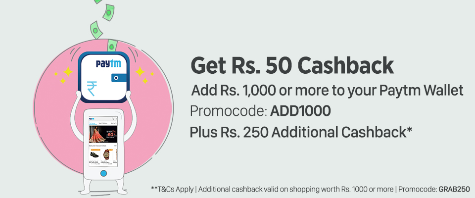 Paytm Offers Rs 1000+ CashBack All Users January 2016