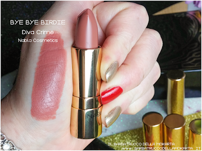 BYE BYE BIRIDIE SWATCHES diva crime goldust collection Nabla cosmetics