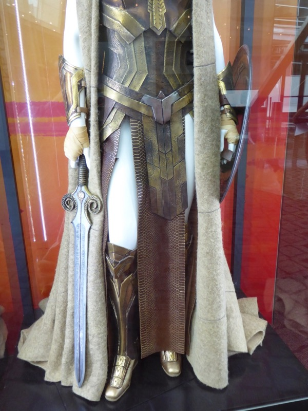 Queen Hippolyta costume detail Wonder Woman