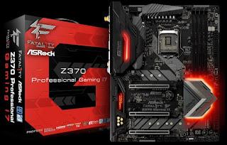 Spesifikasi Motherboard ASRock Fatal1ty Z370 Professional Gaming i7