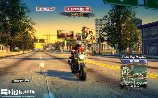 Road Rash Game for PC Full Version