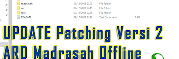 UPDATE Patching Versi 2 ARD Madrasah Offline