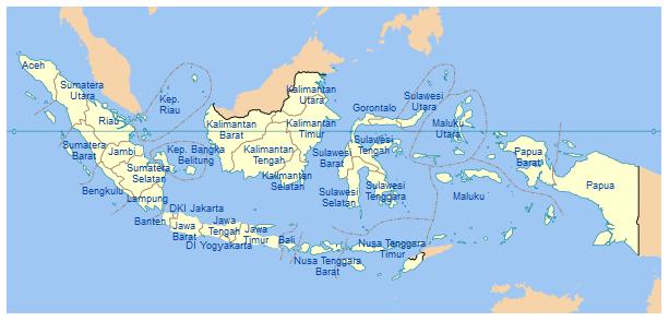 Jumlah Provinsi di Indonesia, Nama dan Ibukotanya (Ulasan Lengkap)