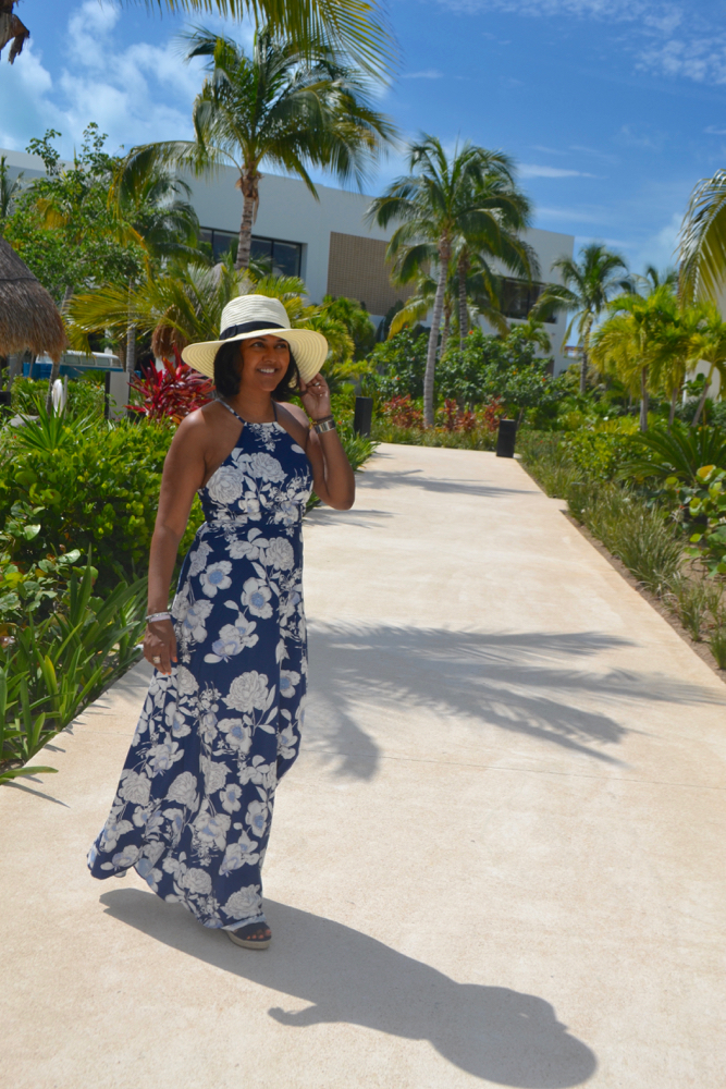 Floral maxi dress Make Me chic