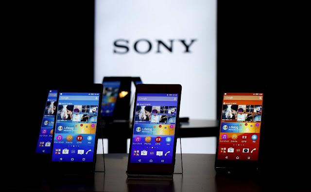 Smartphone Sony-merek baru