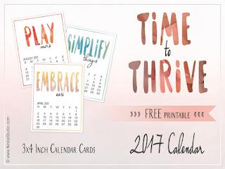 3 by 4 printable calendar