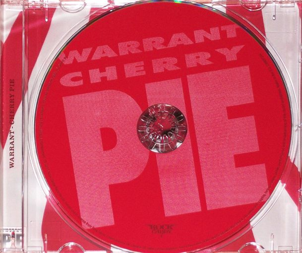 WARRANT - Cherry Pie [Rock Candy remastered +5] (2017) disc