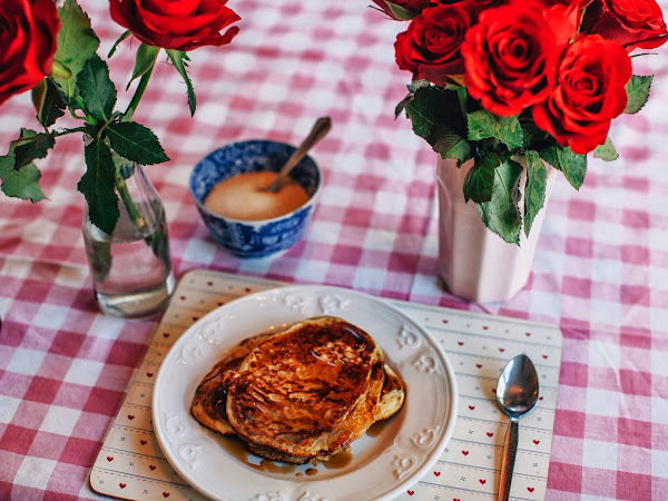 the BEST pancake recipe!