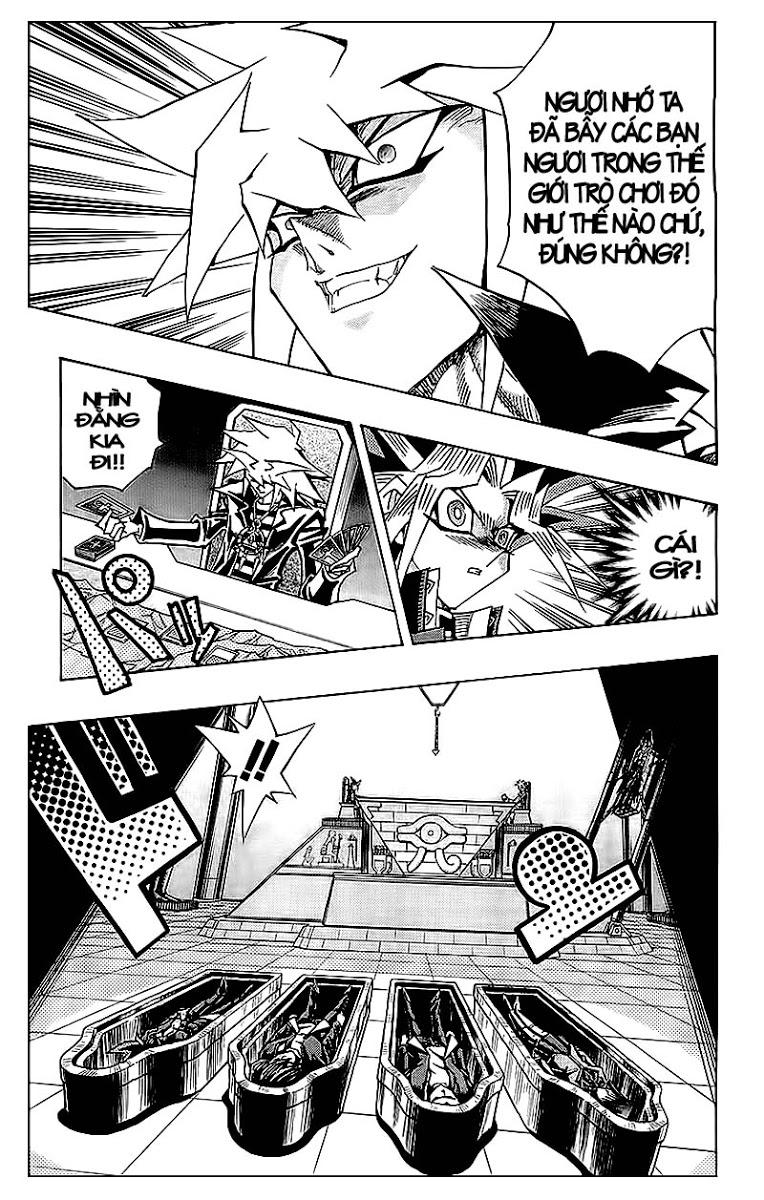 YUGI-OH! chap 320 - trò chơi bóng tối cuối cùng trang 9
