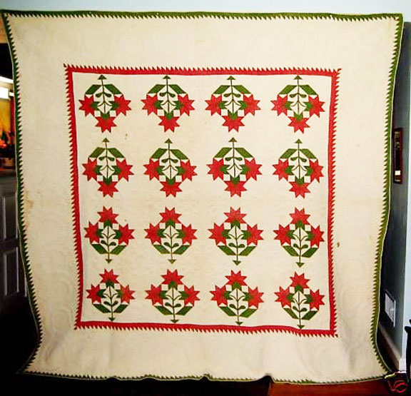 Cloud of Quilt Patterns: Oldest Carolina/Cleveland Lily Quilts