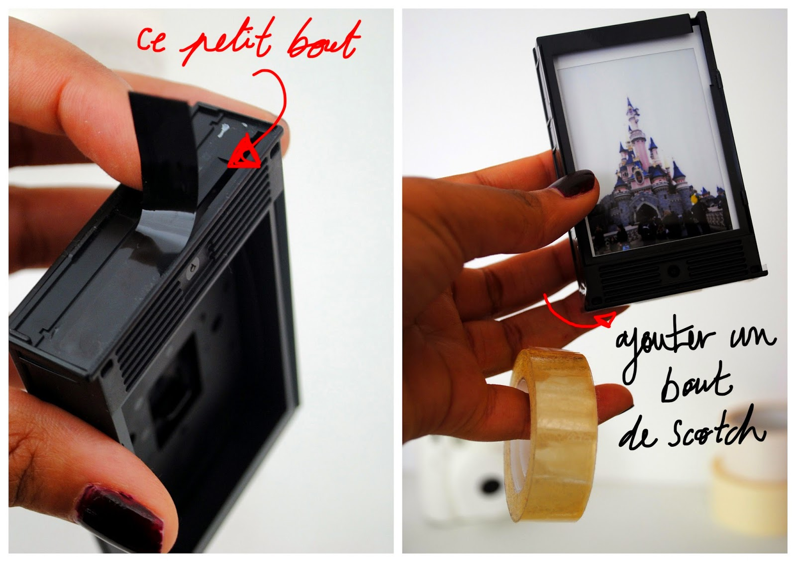 diy cadre photo instax mini 8 sabine oignons. Black Bedroom Furniture Sets. Home Design Ideas