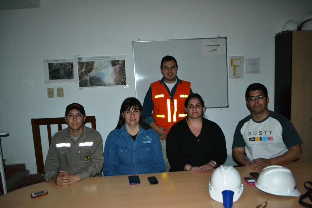 La DIPGAM supervisa tareas de Minera Alumbrera en Vis Vis