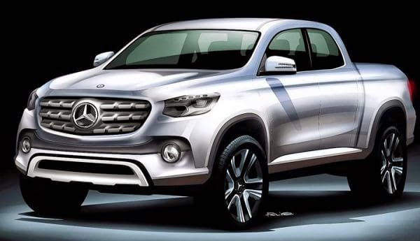 Mercedes Benz pick up