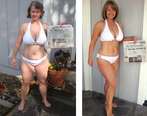 Antes e Depois - Mulher