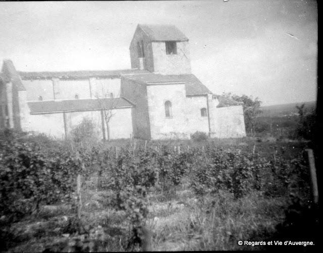 Photo noir et blanc d'Auvergne