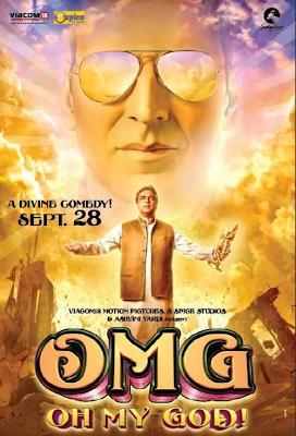 Poster Of Hindi Movie Oh My God (2012) Free Download Full New Hindi Movie Watch Online At worldfree4u.com