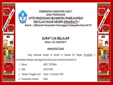 Kumpulan Contoh Format Surat Keterangan Kebutuhan Administrasi Guru dan Sekolah