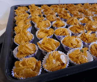 Tutorial Resipi Cornflakes Madu Ngap Ngap Abis