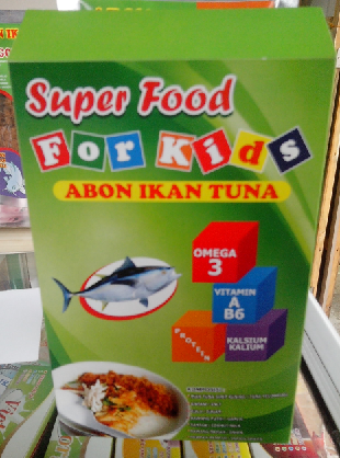 Abon Ikan Tuna Pak Gondo For Kids