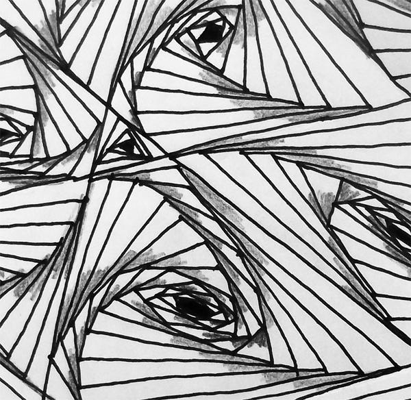 zentangle, drawing,