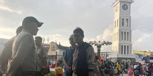 Kunjungi Bukittinggi, Gubernur Irwan Ungkap Sejarah Jam Gadang