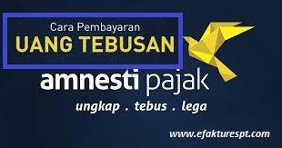Segera Manfaatkan Amnesti Pajak dan bayar uang tebusan dengan benar