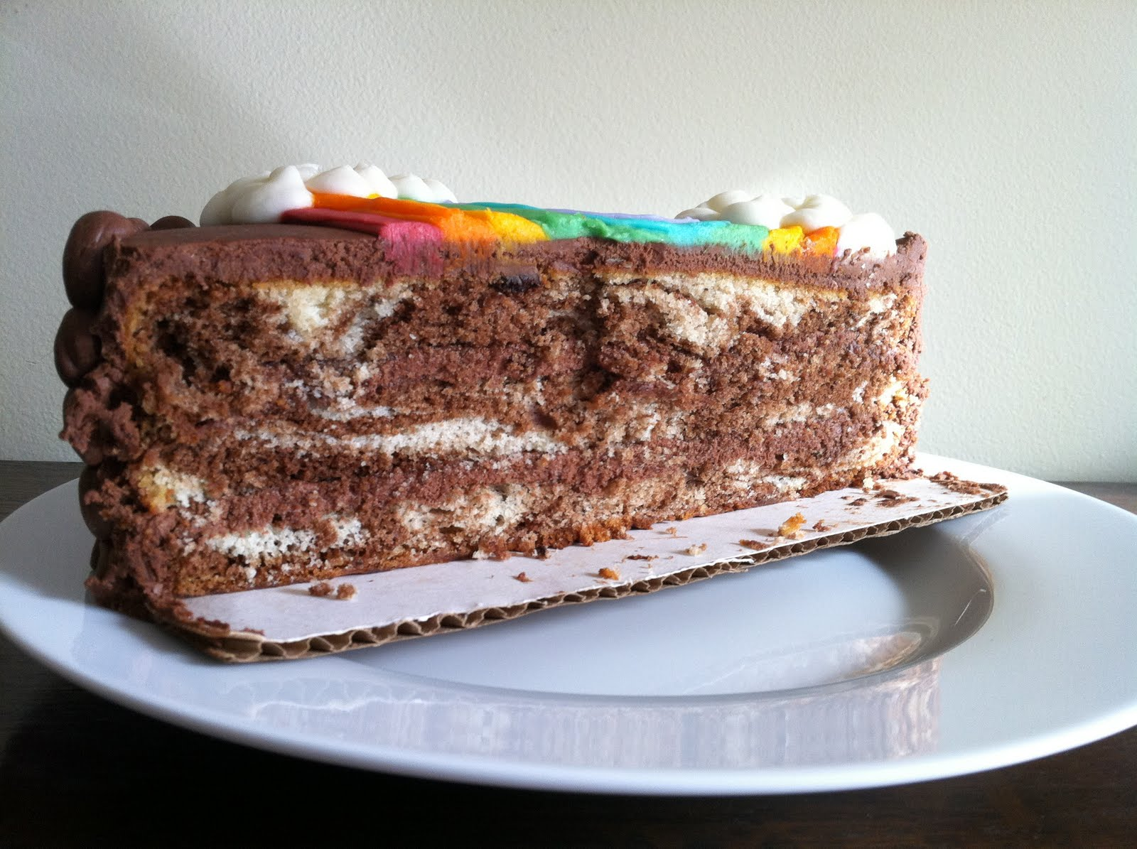Wanted Recipe For Marble Mud Cake
