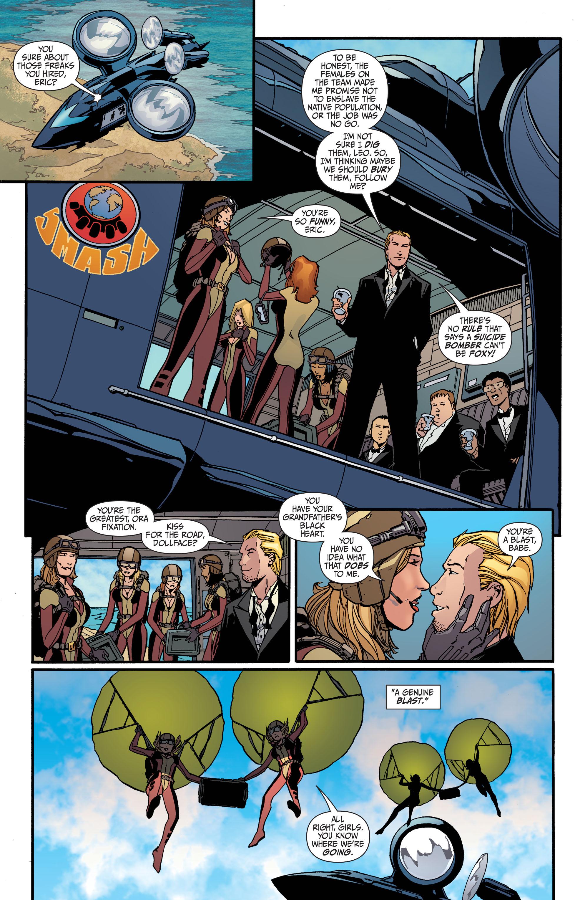 Read online Secret Six (2008) comic -  Issue #30 - 19